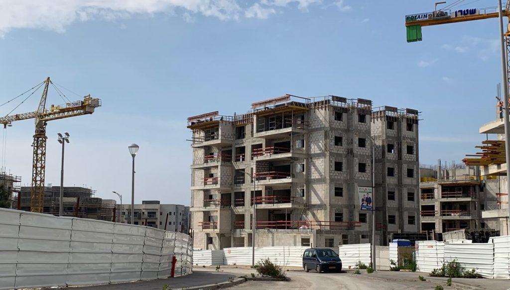 אתר בנייה בחריש - מרץ 2019