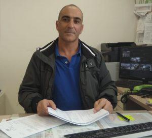 מורדי בן שמעון, מנהל אגף חירום וביטחון