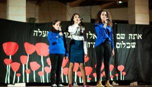 תנועות הנוער בטקס יום הזיכרון