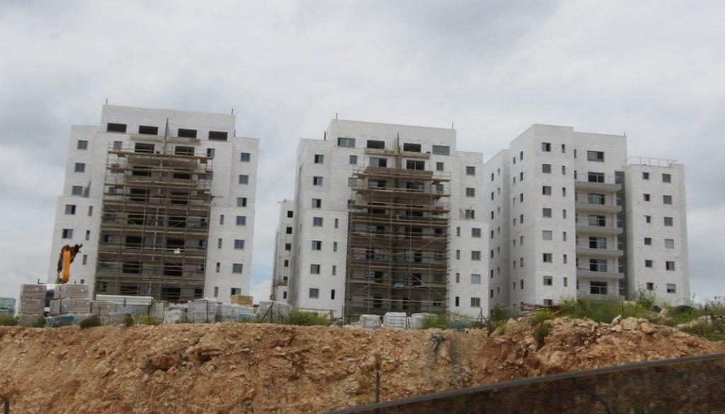 """פרויקט מחיר למשתכן של האחים אוזן בשכונת מעו""""ף. מועד איכלוס משוער: מאי 2020"""