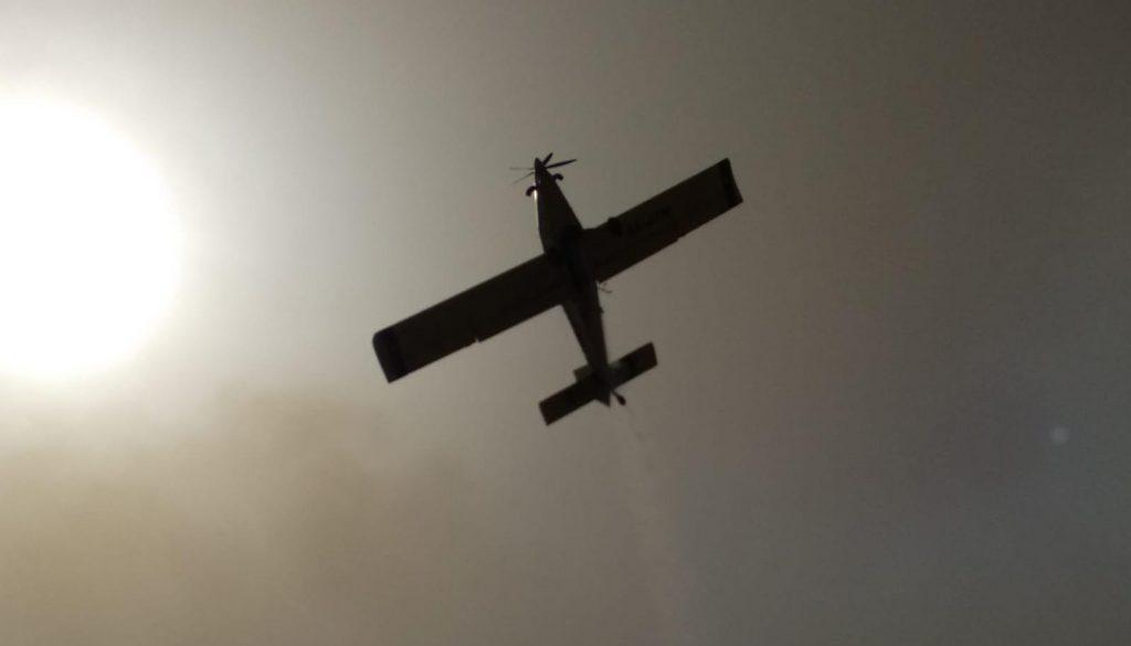 מטוסי כיבוי מטייסת אלעד. צילום: רונן רוזנטל
