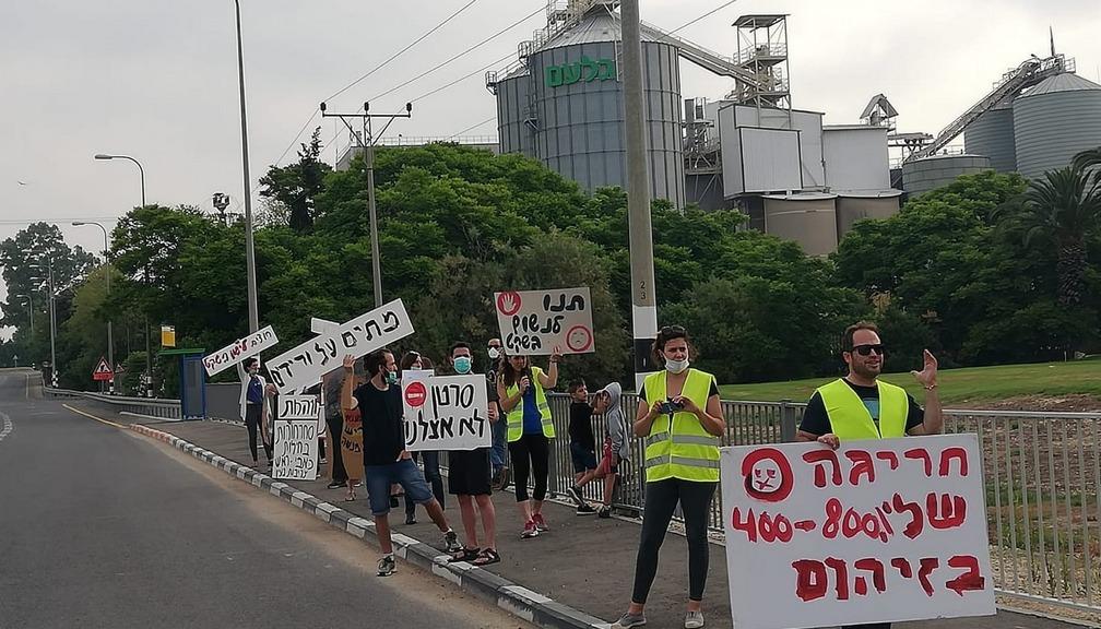 הפגנה נגד ורידיס