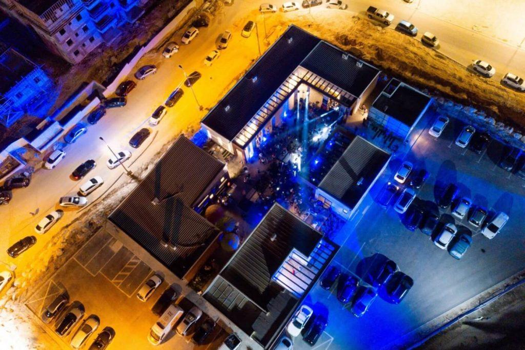מתחם המסיבה השיתופית. צילום: מור שקיפי לאטי