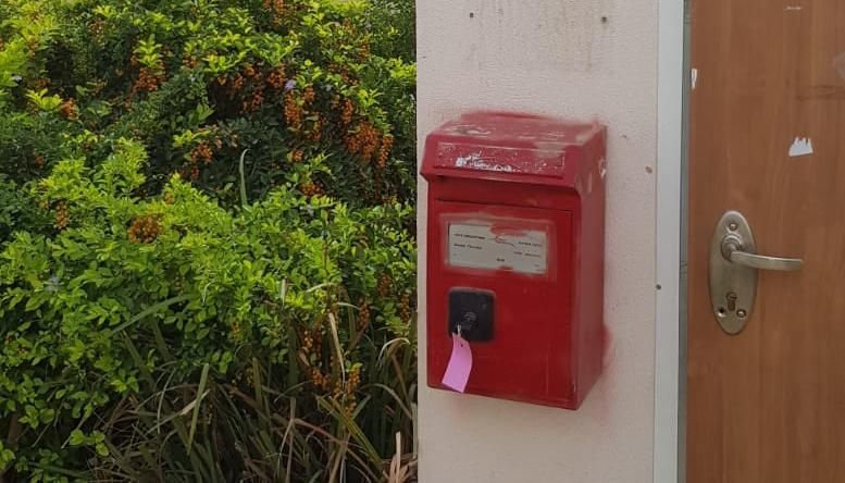מפתח בתיבת דואר