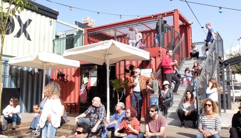 מתחם חצר השוק פרדס חנה. צילום: אביטל שוץ
