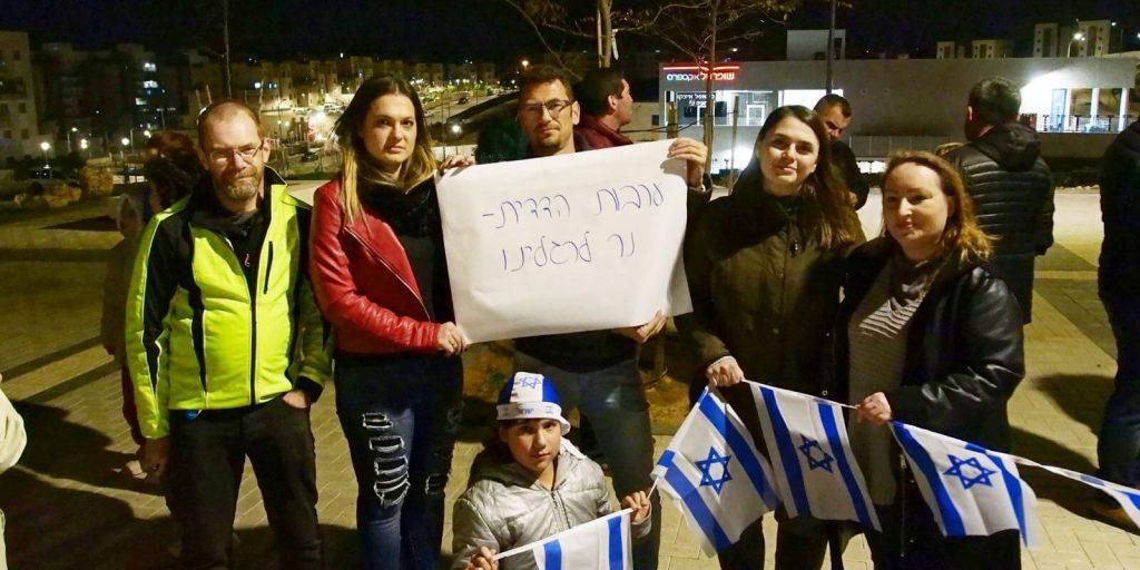 דריה מסיקה נלי ברוורמן אסיפת מחאה יהודי ברית המועצות יהודים רוסים