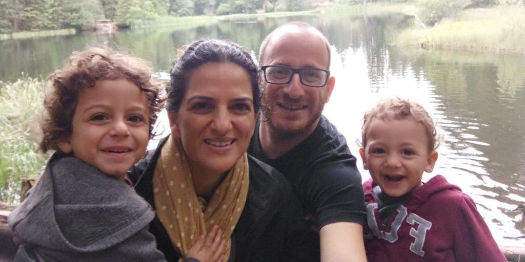 ברוך קרומביין תמונה משפחתית