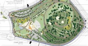 התכנית להקמת הפארק המרכזי משנת 2016