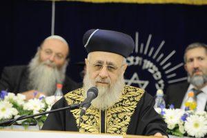 הרב יצחק יוסף צילום: שי בארי