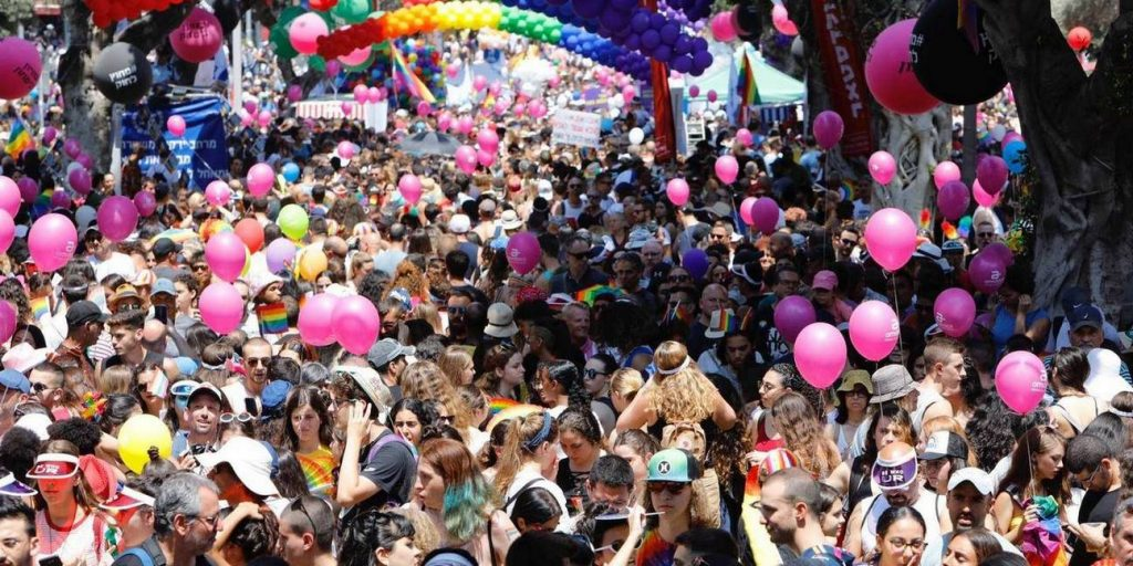 שבוע הגאווה בתל אביב 2019 צילום: דוברות עיריית תל אביב