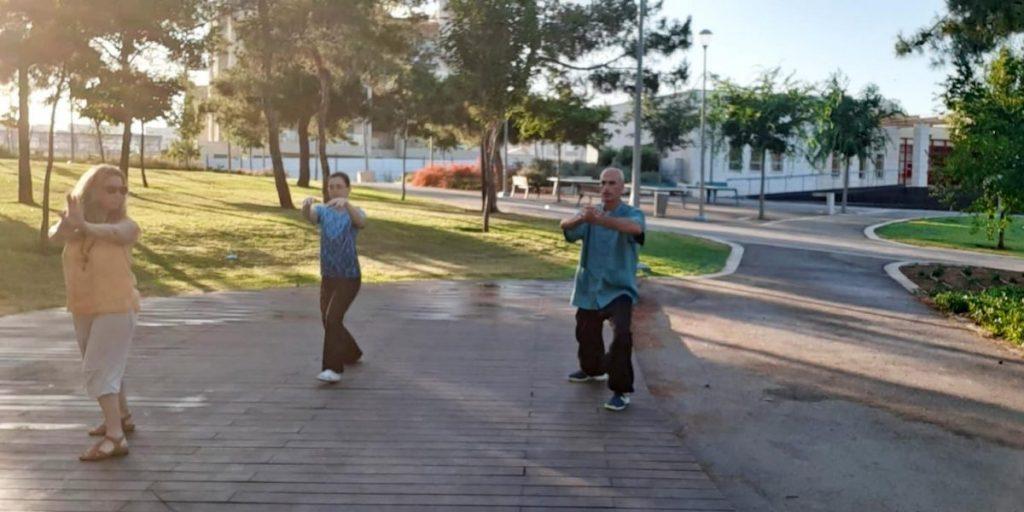 צ'י קונג בפארק המועצה