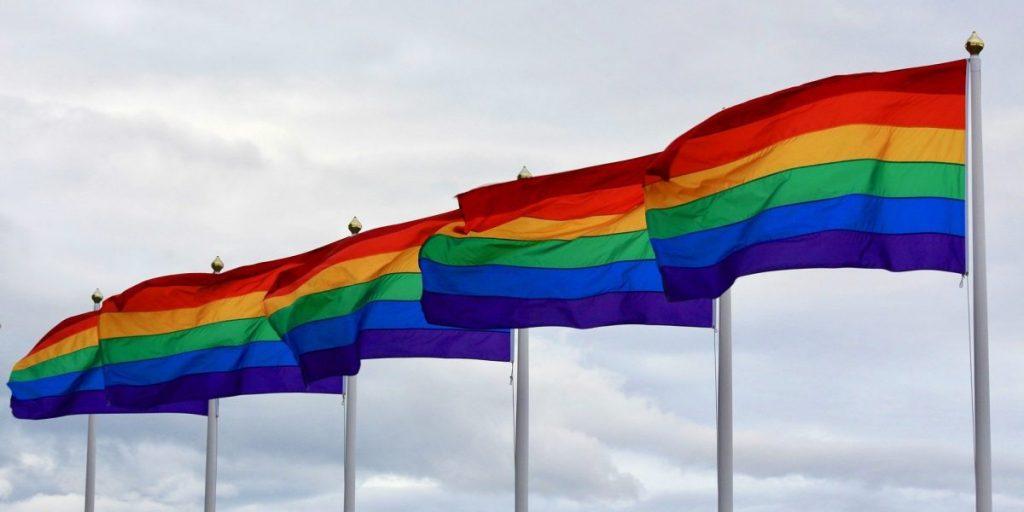 """דגל הגאווה קהילה להט""""בית בחריש"""