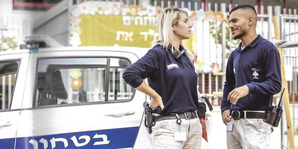 עלות תקורות רכב סיור ביטחון צילום: דוברות עיריית חריש
