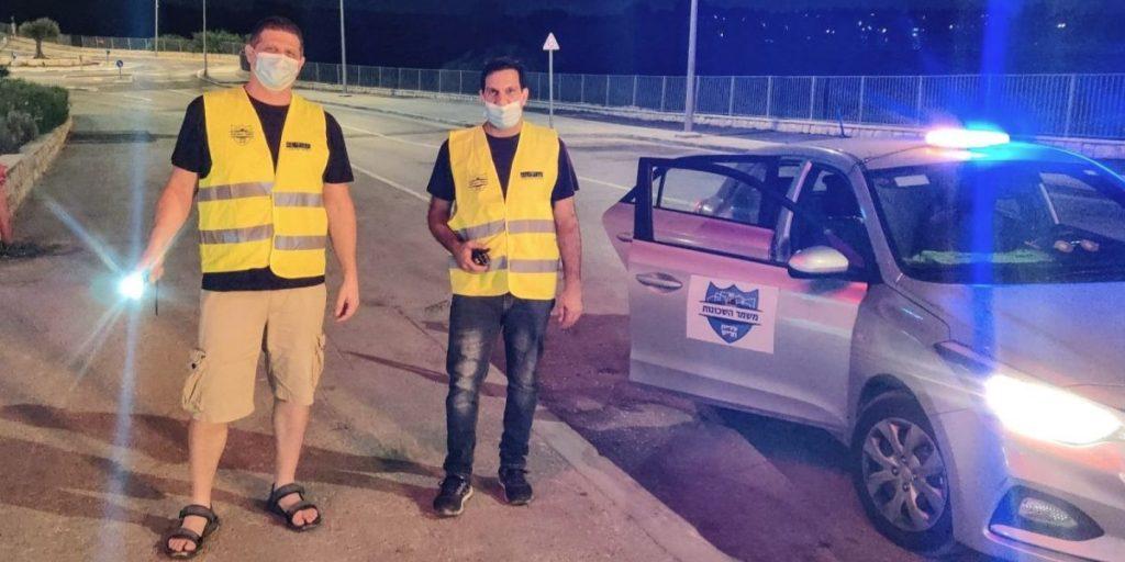 מתנדבים במשמר השכונות (1)