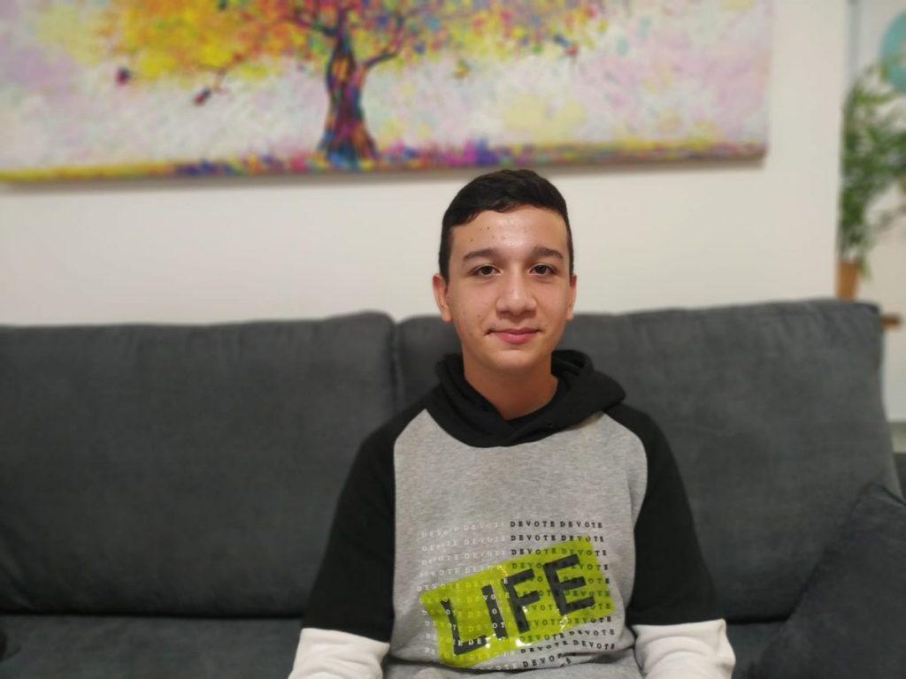 ליאב מולאייב אתגרי העתיד תלמיד חטיבת ביניים