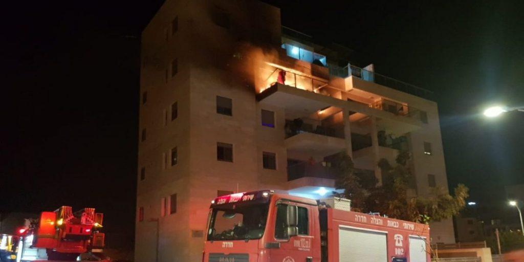 שריפה תמר צילום: אליאב שדה