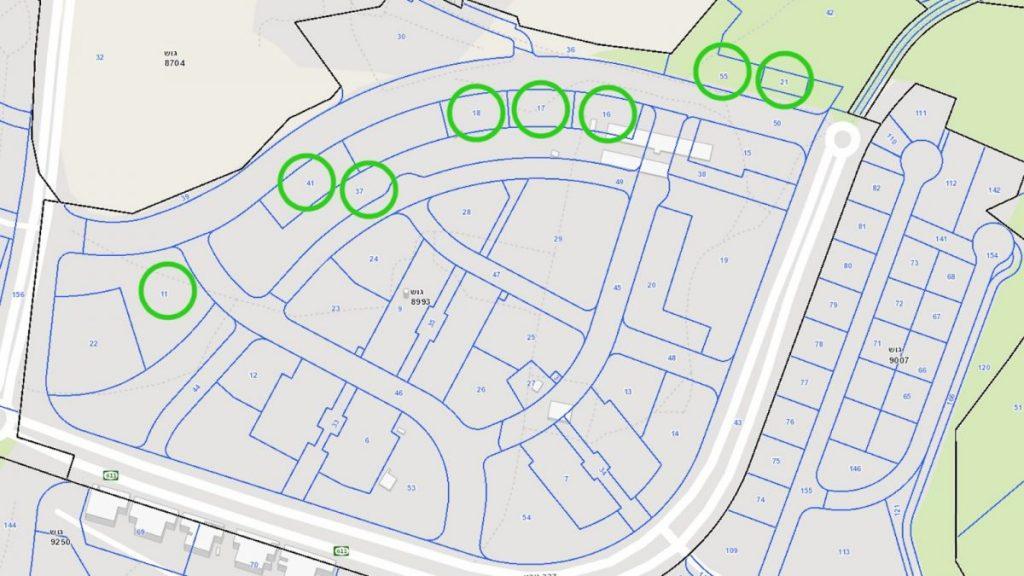 """בעיגולים הירוקים: האזורים המותרים לפעילות בשבת בשכונת מעו""""ף"""