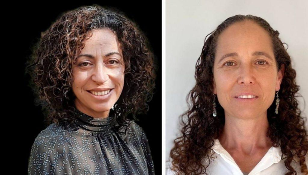 מימין: אסנת אבידן וחגית הרן