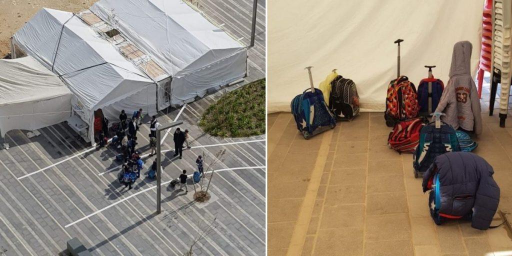 פעילות לילדים באוהל קהילת אור ישראל