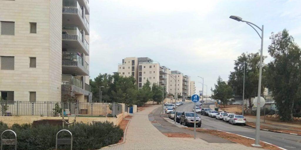 רחוב תמר שכונת החורש