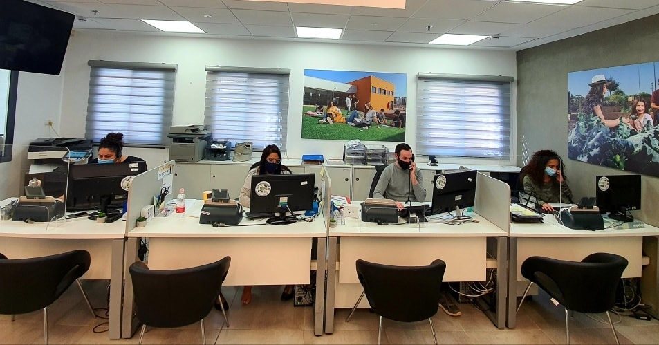 מוקד שירות לתושב מרכז שירות לתושב צילום: דוברות עיריית חריש