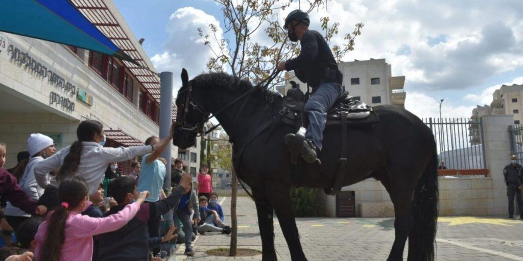 פרשים סוס משטרה תלמי רון