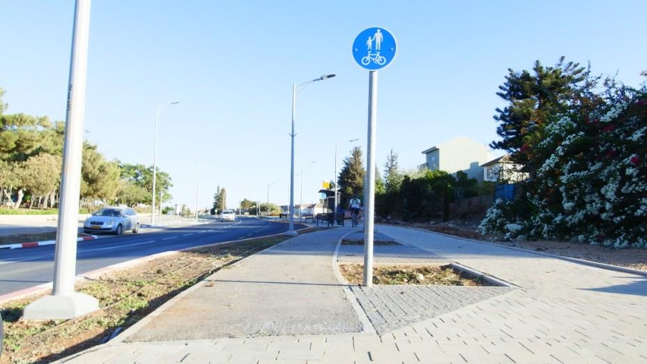 שביל אופניים רחוב תמר