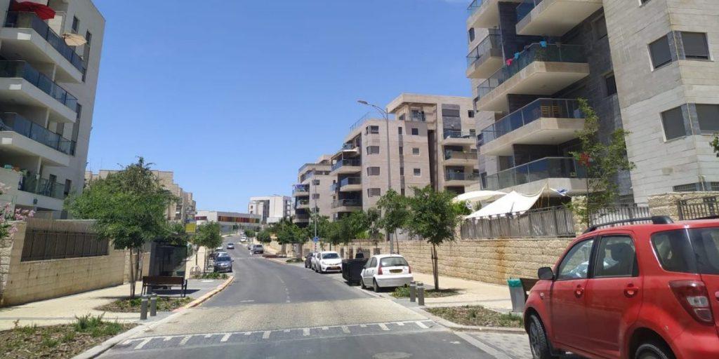 רחוב תאנה שכונת החורש