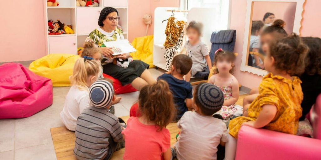 מורן רז מעון ילדים צוות המעון צילום: אורן קלר