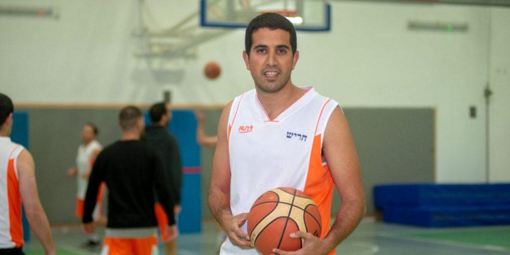 אליאור ארביב כדורסל מכבי צילום: אורן קלר