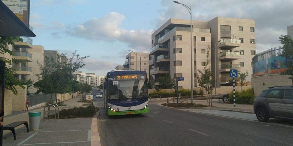 שלומי כהן קו 22 הסעות קו פנימי תחבורה ציבורית אוטובוס